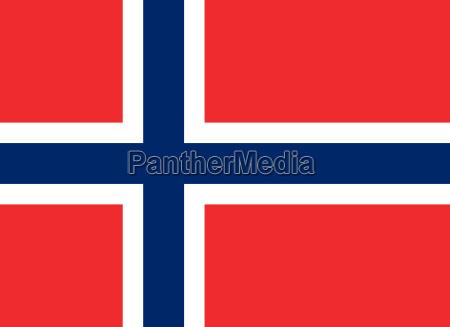 flagge von norwegen horizontal