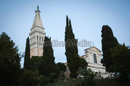 basilica of saint euphemia in rovinj