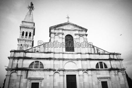 aussenansicht der kirche st euphemia bw