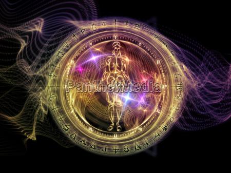 visualisierung der heiligen geometrie