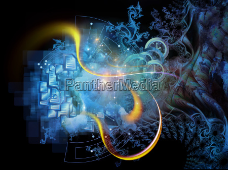 fractal mechanik visualisierung