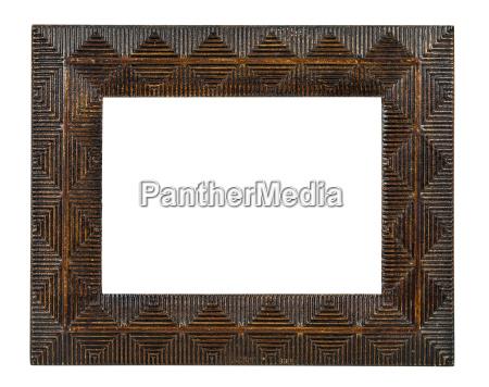 dekorative bronze leerer bilderrahmen