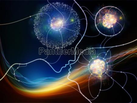 digitale, thought, netzwerk - 14325355