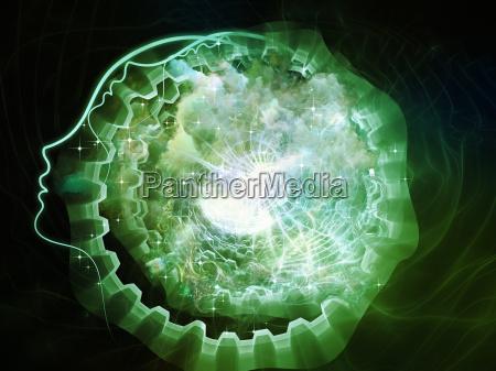 entfalten, der, inneren, geometrie - 14325191
