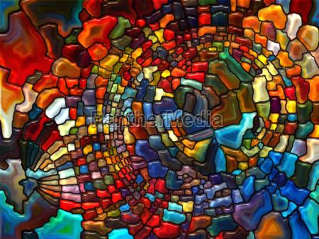 advance von glasmalerei