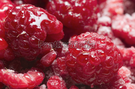 raspberries juicy