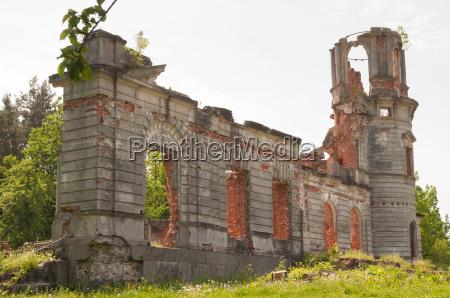 ruine einer villa