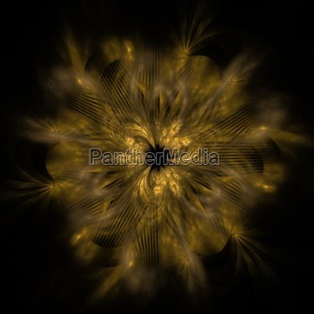 abstrakte computergrafik