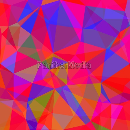 abstract red blue polygonal background abstract