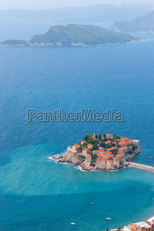 st stephan insel in montenegro
