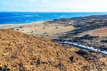 bartolome island landscape