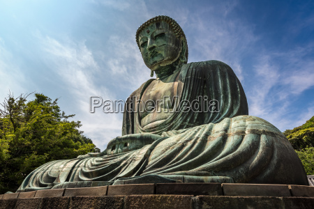 der grosse buddha von kamakura kamakura