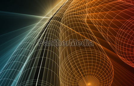 futuristic abstract