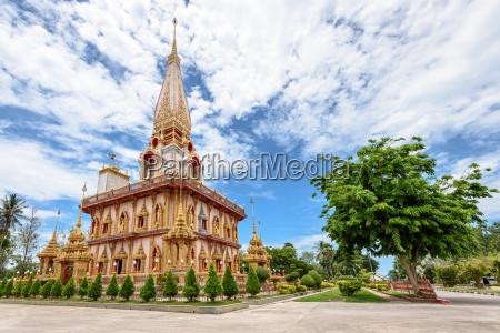 wat chalong oder wat chaitaram tempel