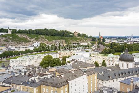 blick auf salzburg OEsterreich