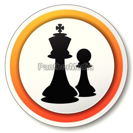 chess orange icon