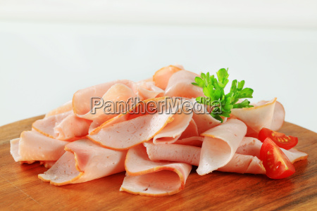 thinly shaved chicken breast