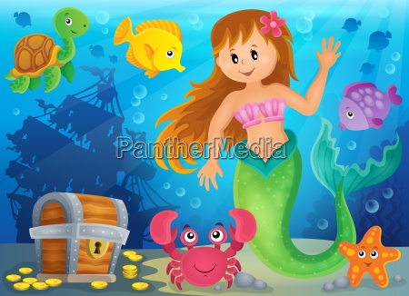 mermaid theme image 3