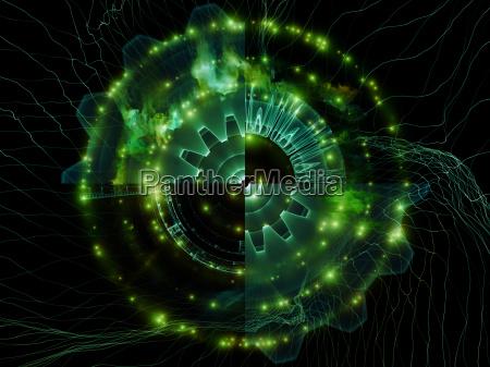 virtual life of abstract visualization