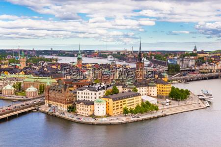 gamla stan schweden skandinavien europa