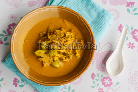 curry hot spicy food rainy season