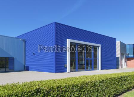 blue warehouse