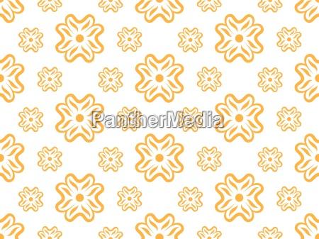 vector nahtlose tapete mit floralem muster