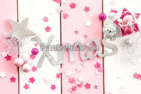 xmas mit weihnachtsdeko