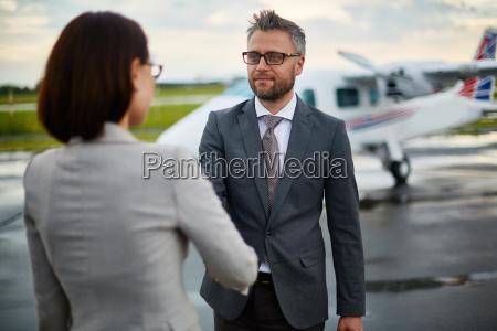 greeting partner