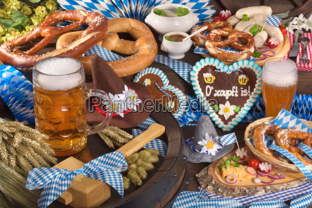 all typical bavarian food in one