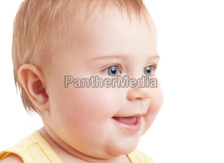 nettes babygesicht