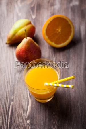 gesunde hausgemachten smoothie