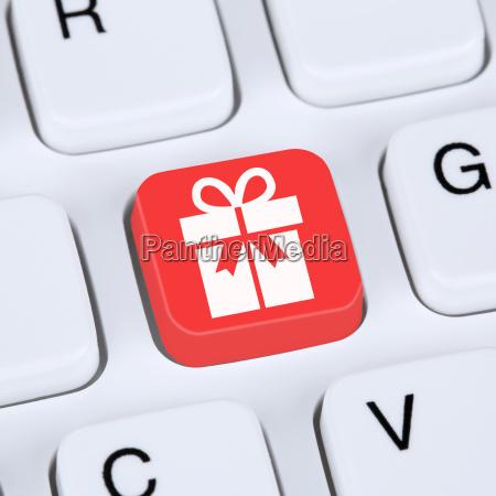 internet, konzept, geschenke, online, shopping, einkaufen - 14477713