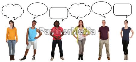 people, gruppe, junge, leute, sagen, meinung - 14477693