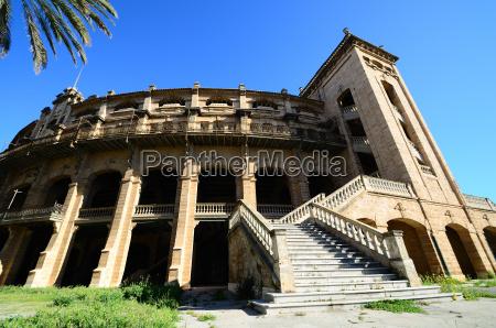 antikes stadion in mallorca weitwinkel