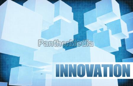 innovation auf futuristische zusammenfassung