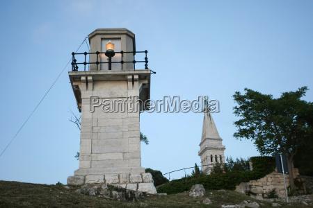 lighthouse in rovinj