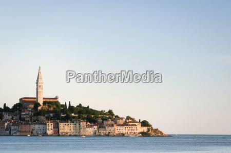 rovinj on adriatic coast