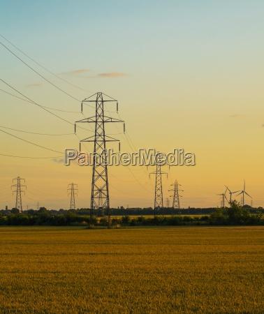 blau umwelt industrie energie strom elektrizitaet
