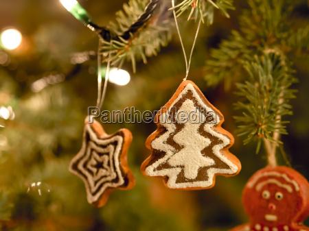 lebkuchen baum weihnachtsmarkt