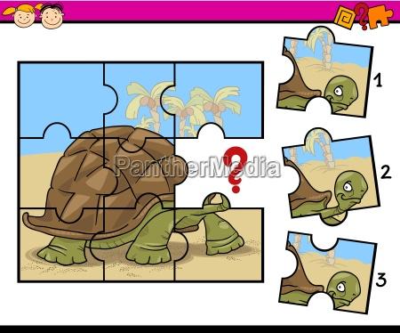 jigsaw puzzle cartoon game