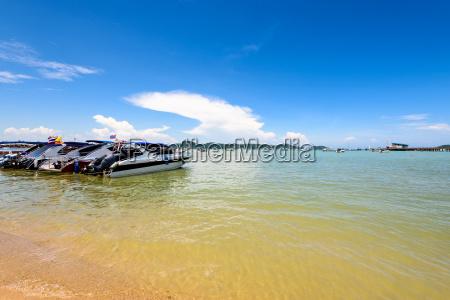 strand hafen von ao chalong bay