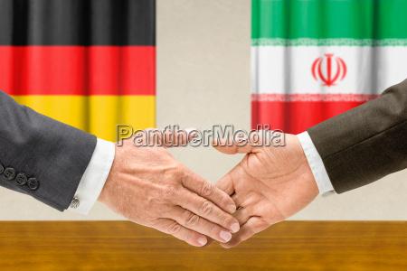 representatives of germany and iran join