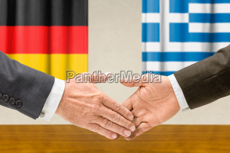 representatives of germany and greece join