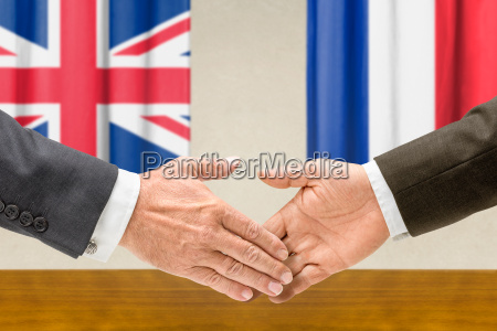 representatives of britain and france join
