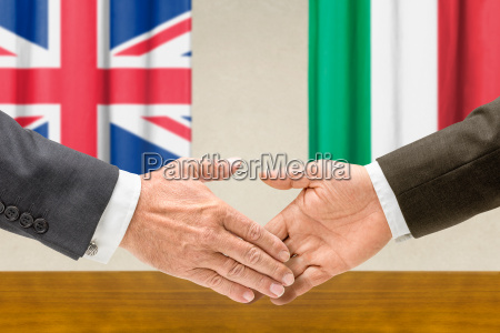 representatives of britain and italy join