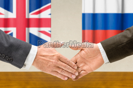 representatives of great britain and russia
