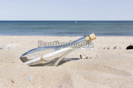 message in a bottle on the