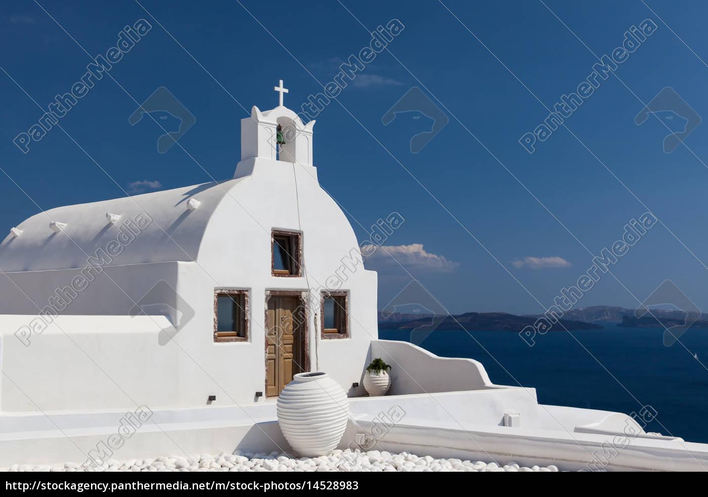 kapelle, in, oia - 14528983