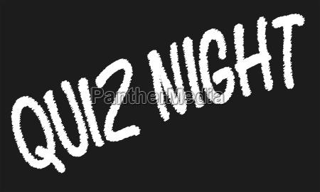 quiz nacht tafel
